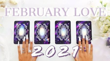 ????Your FEBRUARY 2021 LOVE Prediction ♡Single's & Taken♡????????????(PICK A CARD)✨Tarot Reading✨